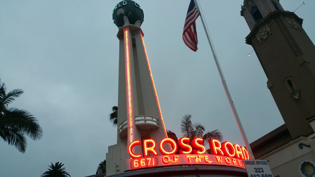 Crossroads of the world. America's first outdoor shopping mall.